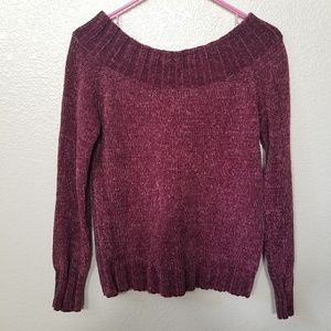 American Rag Off The Shoulder Sweater